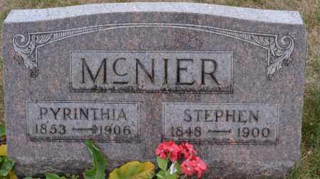 MCNIER, STEPHEN - Union County, Ohio | STEPHEN MCNIER - Ohio Gravestone Photos