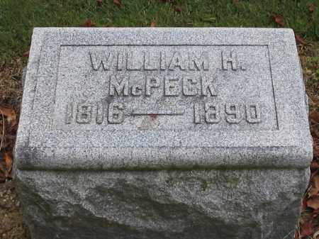MCPECK, WILLIAM - Union County, Ohio | WILLIAM MCPECK - Ohio Gravestone Photos