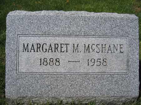 MCSHANE, MARGARET M. - Union County, Ohio | MARGARET M. MCSHANE - Ohio Gravestone Photos