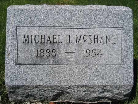 MCSHANE, MICHAEL J - Union County, Ohio | MICHAEL J MCSHANE - Ohio Gravestone Photos