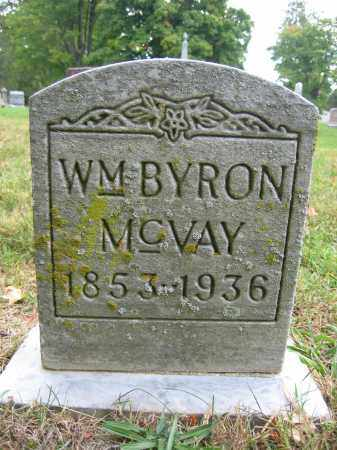MCVAY, WM. BYRON - Union County, Ohio | WM. BYRON MCVAY - Ohio Gravestone Photos