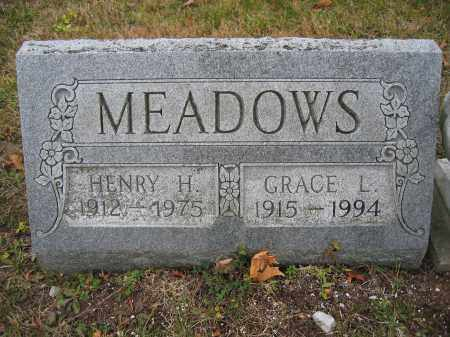 MEADOWS, HENRY H. - Union County, Ohio | HENRY H. MEADOWS - Ohio Gravestone Photos