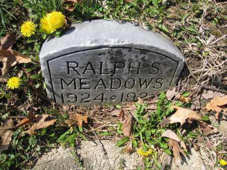 MEADOWS, RALPH S. - Union County, Ohio | RALPH S. MEADOWS - Ohio Gravestone Photos