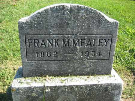 MEALEY, FRANK M. - Union County, Ohio | FRANK M. MEALEY - Ohio Gravestone Photos