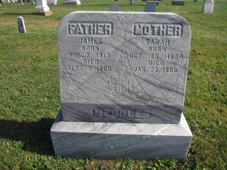 MEDDLES, SARAH - Union County, Ohio | SARAH MEDDLES - Ohio Gravestone Photos