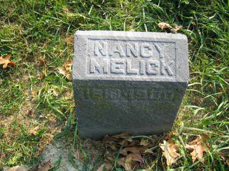 MELICK, NANCY - Union County, Ohio | NANCY MELICK - Ohio Gravestone Photos