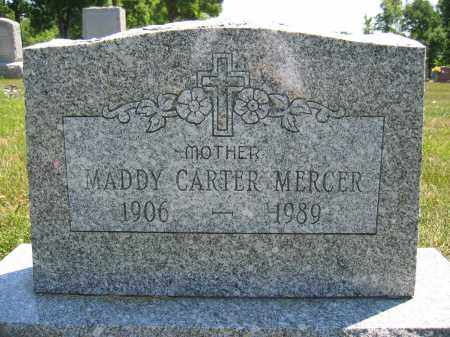 MERCER, MADDY CARTER - Union County, Ohio | MADDY CARTER MERCER - Ohio Gravestone Photos