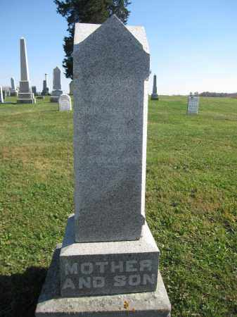 MERCER, SUSANNAH - Union County, Ohio | SUSANNAH MERCER - Ohio Gravestone Photos