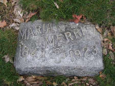 MERRIOTT, MARIA WILLIAMS - Union County, Ohio | MARIA WILLIAMS MERRIOTT - Ohio Gravestone Photos