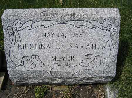 MEYER, SARAH R. - Union County, Ohio | SARAH R. MEYER - Ohio Gravestone Photos