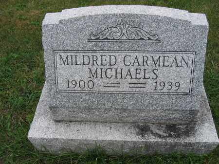 MICHAELS, MILDRED CARMEAN - Union County, Ohio | MILDRED CARMEAN MICHAELS - Ohio Gravestone Photos