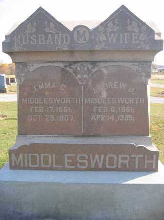 MIDDLESWORTH, EMMA C. - Union County, Ohio | EMMA C. MIDDLESWORTH - Ohio Gravestone Photos