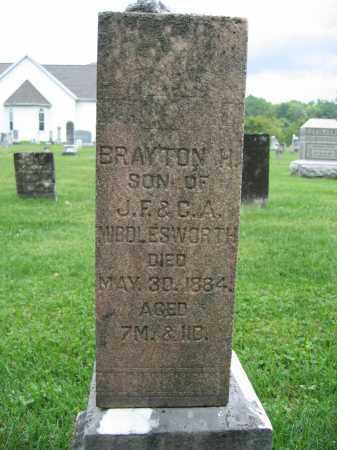 MIDDLESWORTH, BRAYTON H. - Union County, Ohio | BRAYTON H. MIDDLESWORTH - Ohio Gravestone Photos