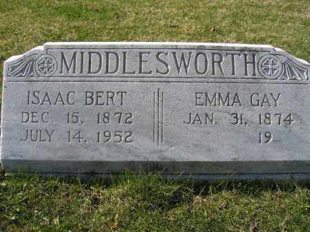 MIDDLESWORTH, EMMA GAY - Union County, Ohio | EMMA GAY MIDDLESWORTH - Ohio Gravestone Photos