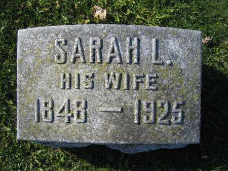 MIDDLESWORTH, SARAH L. - Union County, Ohio | SARAH L. MIDDLESWORTH - Ohio Gravestone Photos