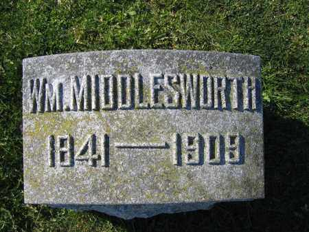 MIDDLESWORTH, WILLIAM - Union County, Ohio | WILLIAM MIDDLESWORTH - Ohio Gravestone Photos