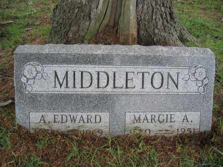 MIDDLETON, A. EDWARD - Union County, Ohio | A. EDWARD MIDDLETON - Ohio Gravestone Photos