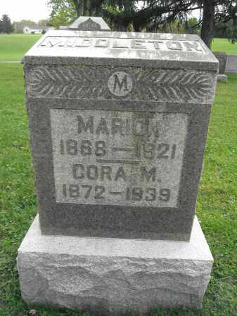 MIDDLETON, MARION - Union County, Ohio | MARION MIDDLETON - Ohio Gravestone Photos