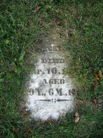MILES, GEORGE - Union County, Ohio | GEORGE MILES - Ohio Gravestone Photos
