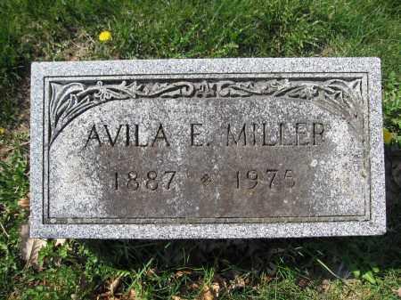 MILLER, AVILA E. - Union County, Ohio | AVILA E. MILLER - Ohio Gravestone Photos