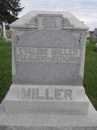 MILLER, EVALINE - Union County, Ohio | EVALINE MILLER - Ohio Gravestone Photos