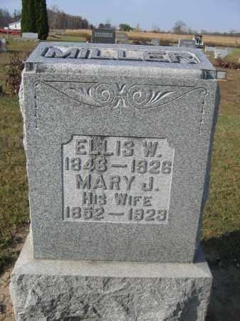 MILLER, MARY J. - Union County, Ohio | MARY J. MILLER - Ohio Gravestone Photos
