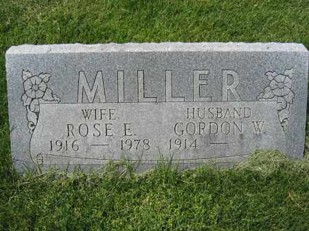 MILLER, GORDON W. - Union County, Ohio | GORDON W. MILLER - Ohio Gravestone Photos