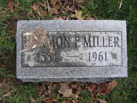 MILLER, HARMON F. - Union County, Ohio | HARMON F. MILLER - Ohio Gravestone Photos