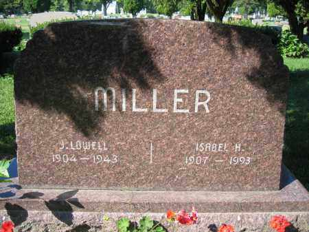 MILLER, J. LOWELL - Union County, Ohio | J. LOWELL MILLER - Ohio Gravestone Photos
