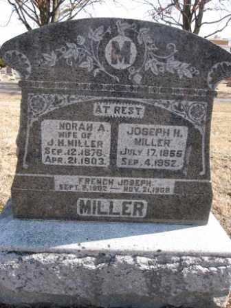 MILLER, FRENCH JOSEPH - Union County, Ohio | FRENCH JOSEPH MILLER - Ohio Gravestone Photos