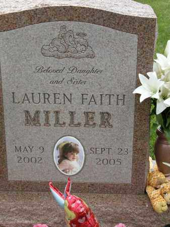 MILLER, LAUREN FAITH - Union County, Ohio | LAUREN FAITH MILLER - Ohio Gravestone Photos