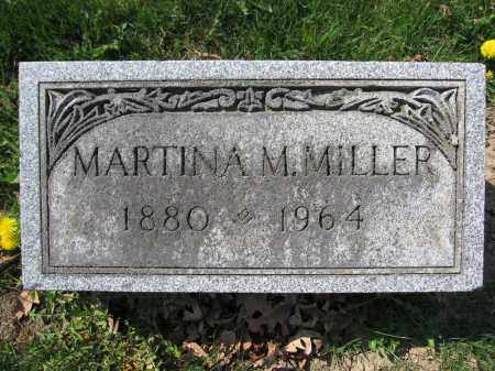 MILLER, MARTINA M. - Union County, Ohio | MARTINA M. MILLER - Ohio Gravestone Photos