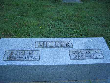 MILLER, RUTH M. - Union County, Ohio | RUTH M. MILLER - Ohio Gravestone Photos