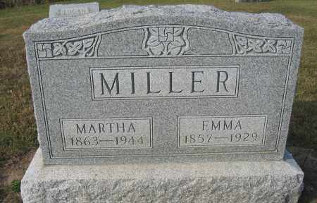 MILLER, MARTHA - Union County, Ohio | MARTHA MILLER - Ohio Gravestone Photos