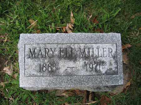 MILLER, MARY ELL - Union County, Ohio | MARY ELL MILLER - Ohio Gravestone Photos