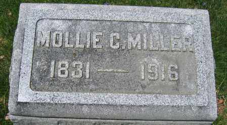 MILLER, MOLLIE C. - Union County, Ohio | MOLLIE C. MILLER - Ohio Gravestone Photos