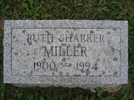 MILLER, RUTH SHARRER - Union County, Ohio | RUTH SHARRER MILLER - Ohio Gravestone Photos