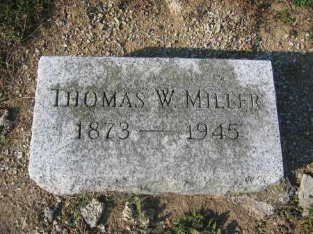 MILLER, THOMAS W. - Union County, Ohio | THOMAS W. MILLER - Ohio Gravestone Photos