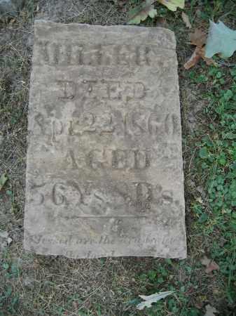 MILLER, UNKNOWN - Union County, Ohio | UNKNOWN MILLER - Ohio Gravestone Photos