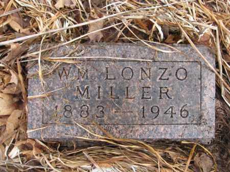 MILLER, WILLIAM LONZO - Union County, Ohio | WILLIAM LONZO MILLER - Ohio Gravestone Photos