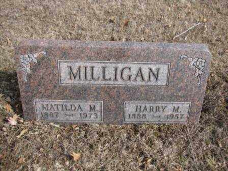 MILLIGAN, HARRY M. - Union County, Ohio | HARRY M. MILLIGAN - Ohio Gravestone Photos