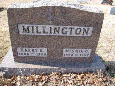 MILLINGTON, MINNIE C. - Union County, Ohio | MINNIE C. MILLINGTON - Ohio Gravestone Photos