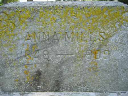 MILLS, ANNA - Union County, Ohio | ANNA MILLS - Ohio Gravestone Photos