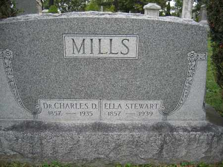 MILLS, DR. CHARLES D. - Union County, Ohio | DR. CHARLES D. MILLS - Ohio Gravestone Photos