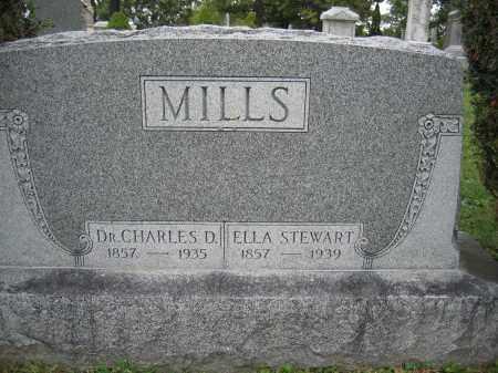 MILLS, ELLA STEWART - Union County, Ohio | ELLA STEWART MILLS - Ohio Gravestone Photos
