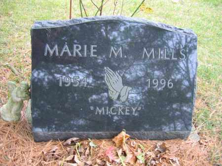 MILLS, MARIE M. - Union County, Ohio | MARIE M. MILLS - Ohio Gravestone Photos