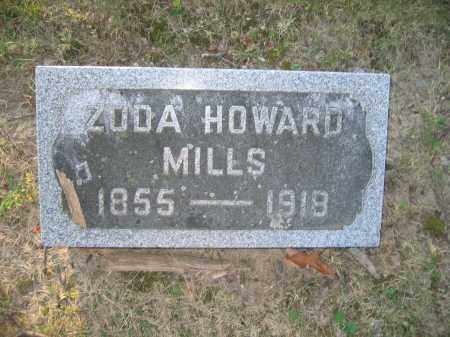 MILLS, ZODA HOWARD - Union County, Ohio | ZODA HOWARD MILLS - Ohio Gravestone Photos