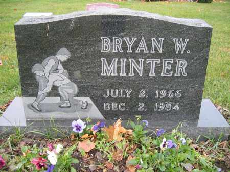 MINTER, BRYAN W. - Union County, Ohio | BRYAN W. MINTER - Ohio Gravestone Photos