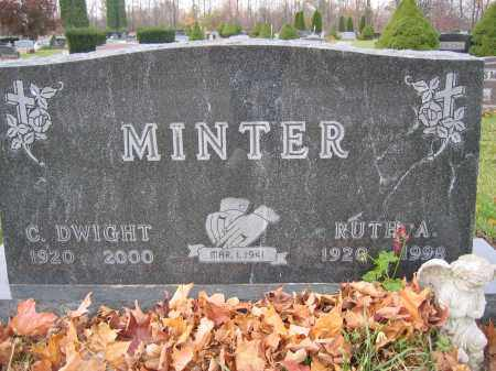 MINTER, RUTH A. - Union County, Ohio | RUTH A. MINTER - Ohio Gravestone Photos