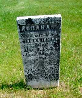 MITCHELL, ABRAHAM - Union County, Ohio   ABRAHAM MITCHELL - Ohio Gravestone Photos